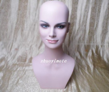 Newest Female Mannequin Head For Wig, Jewelry And Hat Display Free Shipping