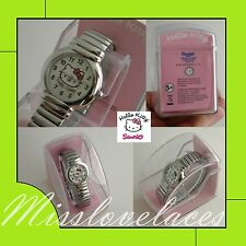 Hello Kitty™ Sanrio ZR25479 TIME KITTY♥OROLOGIO al QUARZO bracciale EXPANDER♥NEW
