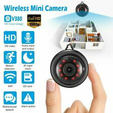 HD 1080P Mini IP Camera Wireless WIFI Hidden Security Motion Night Vision USA
