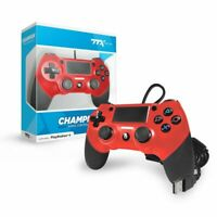 TTX Tech PS4 CHAMPION USB Wired Controller for Playstation 4 - Red