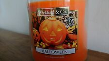 Wickford & Co Larger Halloween 🦇 🎃 pumpkin Candle 95 hours burn time