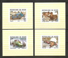 Niger / Racing Cars. Souvenir Sheets. Imperforated . MNH