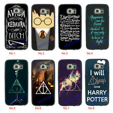 Harry Potter Style Case Cover for Samsung Galaxy S3 S4 S5 S6 S7 edge Note4 Note5