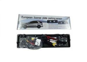 Kit Auto Porta Targa Portatarga con Sensore di Parcheggio Telecamera Automobile