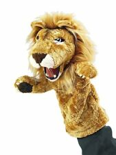Folkmanis High Quality Puppets Play Pretend Fun Animal Puppets (Lion Stage)