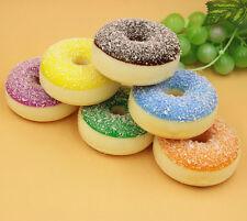 6 Colorful Mini Simulation Donuts Artificial Fake Cake Bread Food