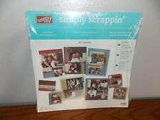 Stampin' Up Simply Scappin Exclusive Scrapbooking Kit At Home Family L1016