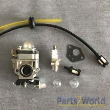 Carburetor Fuel Line Kit For KAWASAKI TE45DX Walbro WYK-74 Husqvarna 145BT