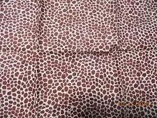 "Giraffe Print Fabric Fat Quarter  19"" x 19"""