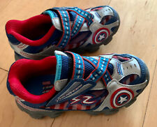 Captain America Stride Rite Marvel Sneakers Shoes