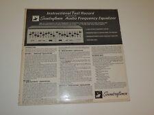 SOUNDCRAFTSMEN INSTRUCTIONAL TEST RECORD Lp BVRS 1156 SOUND AUDIO EQ TEST RARE
