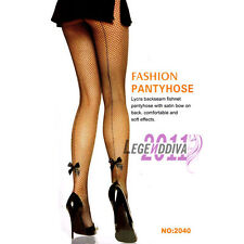 Free Ship Sexy Women's Black Lace Fishnet Pantyhose Tights Stocking Butterfly
