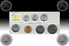 VATICAN SET 1971 - 7 coins 1971 ( 1, 2, 5, 10, 20, 50, 100 LIRE ) UNCIRCULATED