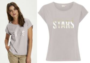 CREAM DK - 10607620 Bluse / T-SHIRT / SILVER SCONCE /SPRING OPENING 2021 38 - M