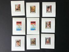 Middle East Yemen Kingdom mnh stamp  deluxe sheets - Art & Paintings