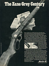 1971 Print Ad of Marlin Zane Grey Liberty Edition 336 Deer Rifle