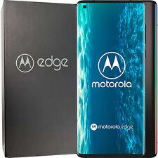 NUOVO Motorola dual-sim Edge 128GB + 6GB Solar Nero Sbloccato Di Fabbrica 5G SIMFREE