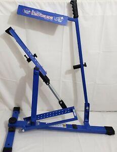LOUISVILLE SLUGGER UPM45 BLUE FLAME BASEBALL SOFTBALL ULTIMATE PITCHING MACHINE
