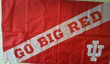 "University of Indiana Hoosiers House Flag NCAA Licensed 28/"" x 40/"""