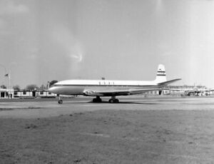 BOAC, DH Comet, G-ALYR, LARGE size NEGATIVE