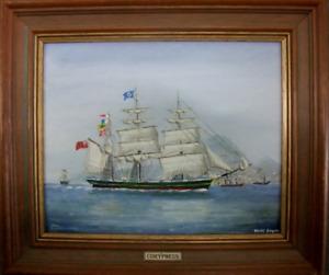 """Original Dacre Smyth """"The Barque Corypheus"""" 1996"""
