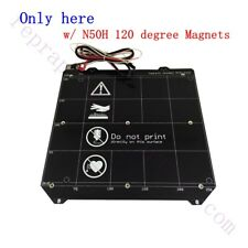 Magnetic PCB Heated Bed MK52 Heatbed 24V w/ cables for Prusa I3 MK3 printer