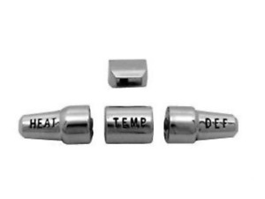 1964 1965 1966 Ford Mustang Heater Knob Set New