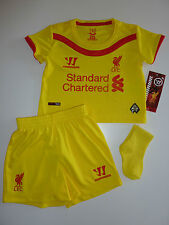 Liverpool Warrior Away Kit Size 3-6 Months NWT