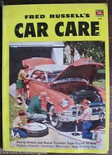 """1952 """"Car Care"""" Magazine, A Fawcett Book 150, How To Detect & Repair Troubles"""
