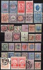 #1581 - Regno - Lotto di 37 marche da bollo - Usati