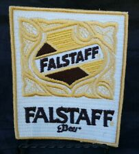 Beer Advertising New Old Stock Falstaff Beer Embroidered Patch Pabst Lemp Old