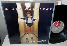 1978 LINDA RONSTADT LIVING IN THE USA ASYLUM LP #6E-155 VG+