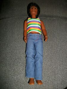 Sonnenschein Familie Vater  schwarz Mattel 1973 Sunshine Family