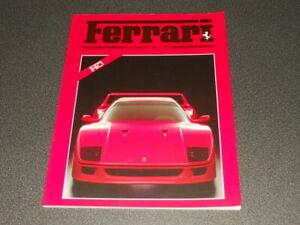revue magazine FERRARI club Deutschland 1987 - german text