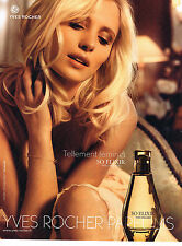 PUBLICITE ADVERTISING 094  2009  YVES ROCHER  parfum femme  SO ELIXIR
