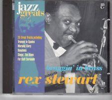 (GM127) Rex Stewart, Braggin' In Brass - 1998 CD
