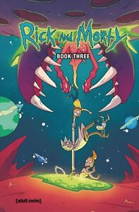 Rick & Morty Book 3 Hardcover GN Sound Clip Kyle Starks Justin Roiland HC New NM