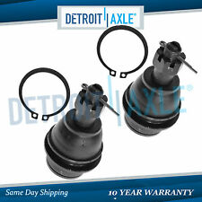 Set of (2) NEW Front Suspension Driver and Passenger Lower Ball Joints
