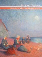 Catalogue de vente : Tableau peinture Bretonne Ecole de Pont Aven