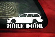 BMW e39 Touring / Estate wagon 'More Door' sticker.For M5, 535i,530i,525i, 540i