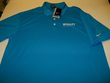 WRIGLEY FOODSERVICE - Embroidered NIKE GOLF Dri-Fit Polo Shirt - New! NWT  LARGE