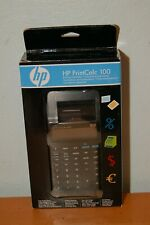 Hp Printcalc 100 Printing Calculator Desktop Accounting Tax Office