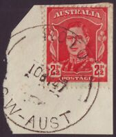 """NSW POSTMARK """"ROTO"""" DATED 1947 ON 2-1/2d KGVI (A10680)"""