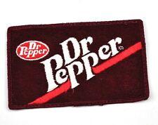 Dr. Pepper USA Bügelflicken Aufnäher Emblem Uniform Patch 1970er