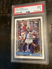 New listing 1992 TOPPS GOLD SHAQUILLE O'NEAL # 362 PSA 9 ROOKIE CARD VERY HOT CARD!! GOLD!!
