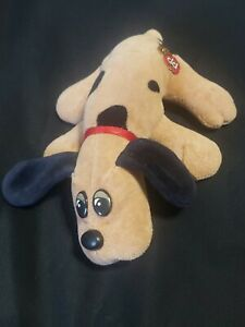Vintage 1986 Tonka POUND Puppies Newborn tan/brown w Black Spots and Ears Puppy