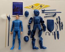 Marx Reissue Blue knight with Accessories. No Box