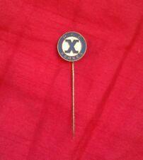 1960s  RFC XERXES DZB FOOTBALL CLUB HOLLAND ENAMEL LAPEL PIN BADGE HOLLAND VGC