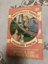Sweet Valley Twins - #29 Jessica and the Brat Attack Vintage