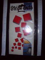 STRIPE ENDS fun BLOCKS Stylistick Vintage Decal Car Van Sticker customise NoS